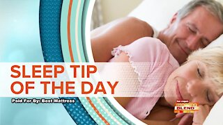 SLEEP TIP OF THE DAY: Choosing The Right Pillow