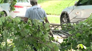 Cleanup underway after storms, residents still without power
