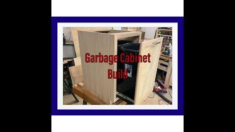 Garbage Cabinet Build