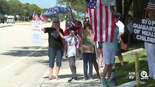 Parents choice rally held in Palm Beach Gardens