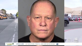 Former CCSD police officer arrested, accused of threatening to shoot Sisolak, Biden, his supervisor