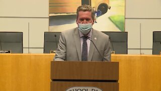 Interim Palm Beach County Superintendent Mike Burke discusses return to school