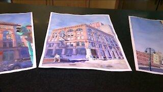 Hidden Gems: Local artist paints watercolor cityscapes