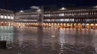 Flooding in St. Mark's Square in Venice causes massive damage