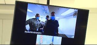 Christopher Sumbs, man in viral ring doorbell video in court