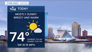 Southeast Wisconsin weather: Another mostly sunny and warm October day