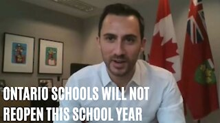 Ontario Schools Are Not Going To Reopen This School Year After All