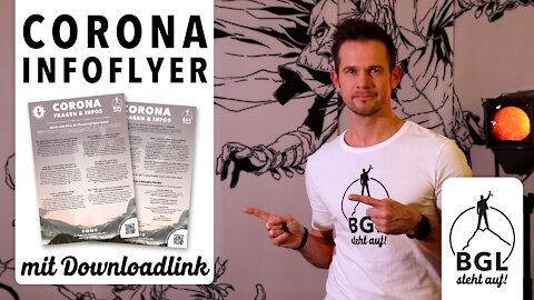 Der Corona/Covid-19 Infoflyer von BGL steht auf! (inklusive Downloadlink zur erweiterten Version)