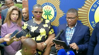 Private security companies pose a danger to society - Mbalula (frJ)