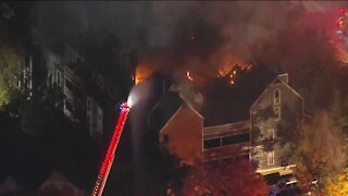 Large fire breaks out at condominium on Boulder's Pearl Street; cause unknown, fire officials say