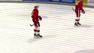 Seider looks to battle for Red Wings roster spot at training camp