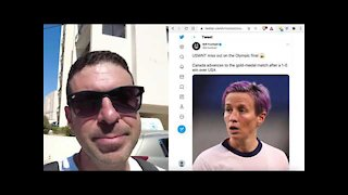 US Women's Soccer Team virtue signals out of Olympic finals