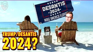 I Flew A Trump-Desantis Flag At The Beach, Then This Happened