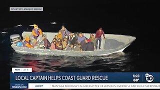 Captain helps Coast Guard rescue 25 passengers