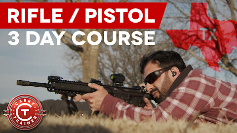 3 Day Rifle/Pistol Class | Dallas, TX