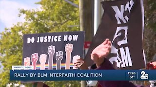 Black Lives Matter Interfaith Coalition rally and collect diapers