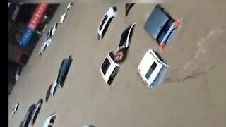 Flash flood in Zhengzhou, Henan province, China Natural disaster