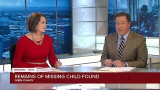 Creek County child dies, possibly mauled by animal