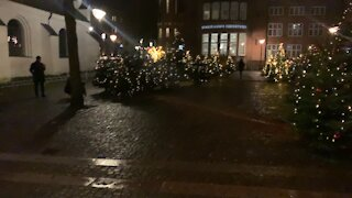 Christmas 🎄 Street Decorations In Aalborg part 3