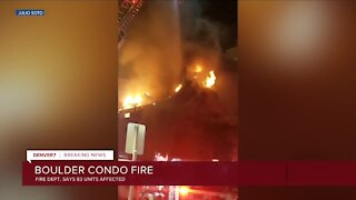 Large fire breaks out at apartment on Boulder's Pearl Street