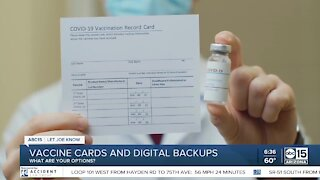 Vaccine cards and digital backups: What are your options?