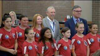 City council honors local softball team