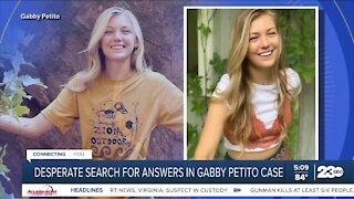 Desperate search for answers in Gabby Petito case