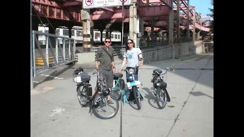 2010 Velosolex & Citroen Bastille Day Rendezvous, NYC, USA