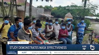 In-Depth: Study demonstrates mask effectiveness