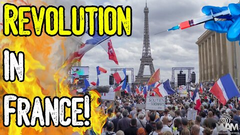 IT'S HAPPENING! - REVOLUTION In France! - Millions Say NO To Vaccine Passports! - Italy JOINS!
