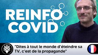 """Louis Fouché : """"Dites à tout le monde d'éteindre sa TV, c'est de la propagande"""" #Covid19"""