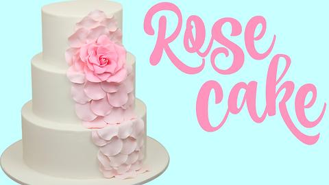 The prettiest wedding cake ever
