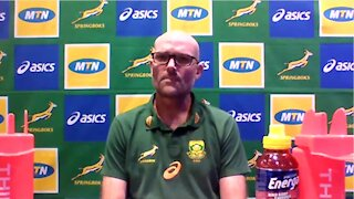 Bok coach Nienaber on referee video clips