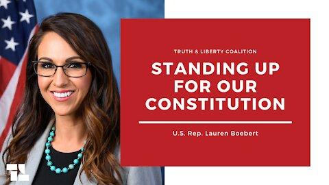 U.S. Rep. Lauren Boebert on Standing Up for the Constitution