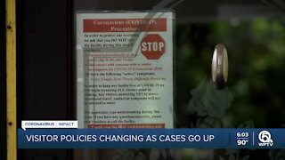 Assisted living facilities tweak visitor polices as cases surge in Florida