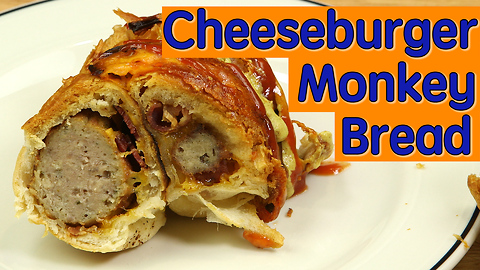 Cheeseburger monkey bread recipe