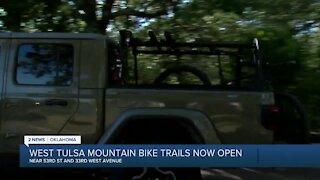 West Tulsa mountain bike trails now open