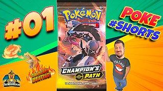 Poke #Shorts #01 | Champion's Path | Charizard Hunting | Pokemon Cards Opening