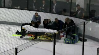 Red Wings prospect Jared McIsaac recovering after collision