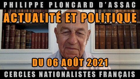 Actualité et politique du 06 Août 2021