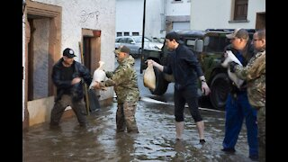 About 30 Spangdahlem families displaced by deadly floods in Germany