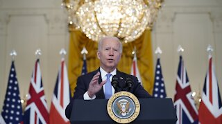 President Biden Announces Indo-Pacific Alliance With U.K., Australia