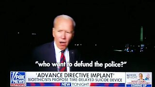 Biden: Talks About Democrats Sucking the Blood Out of Kids Again - 2565