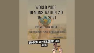 London Freedom Rally 15th May 2021