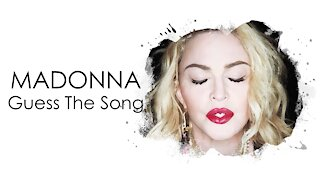 MADONNA - GUESS THE SONG QUIZ