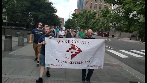 Update Video/Raleigh NC March Against Mask Mandates.