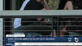 SDPD Officer Arrested