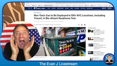 10/15/21 - NYC to GAS the City in BIOTERROR Exercise - Ep. 097