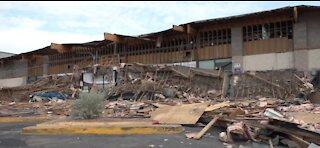 Windstorm responsible for collapse at La Bonita Supermarket