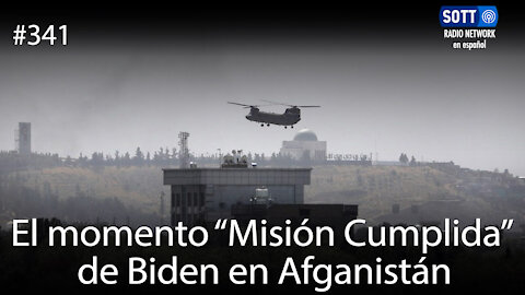 """El momento """"Misión Cumplida"""" de Biden en Afganistán"""
